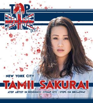 Tap Dance Festival UK Faculty Tamii Sakurai