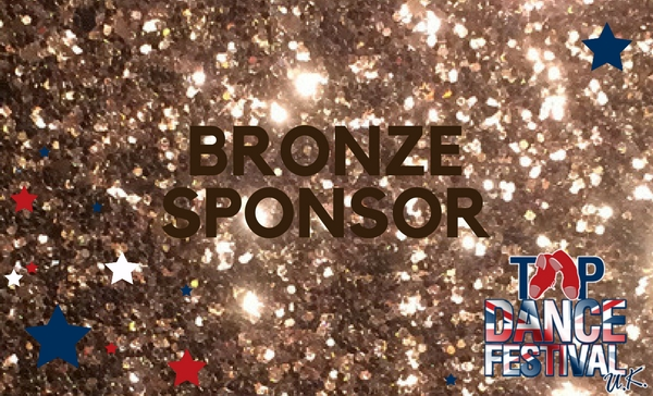 Bronze Sponsor for Tap Dance Festival UK 2018
