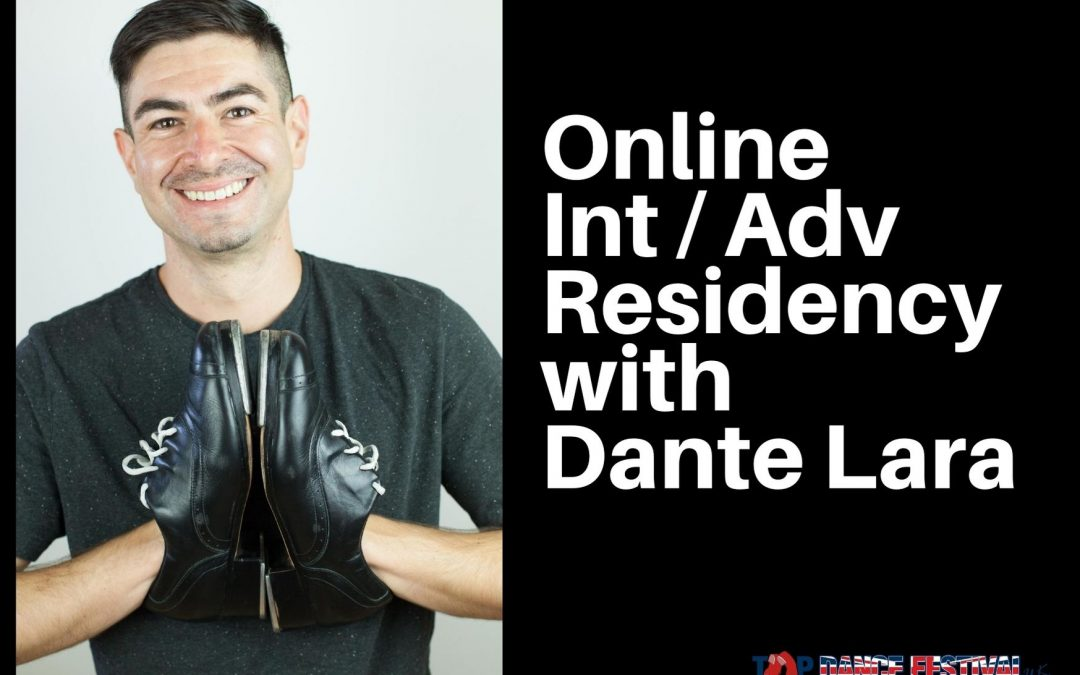 Tap Dance Residency with Dante Lara