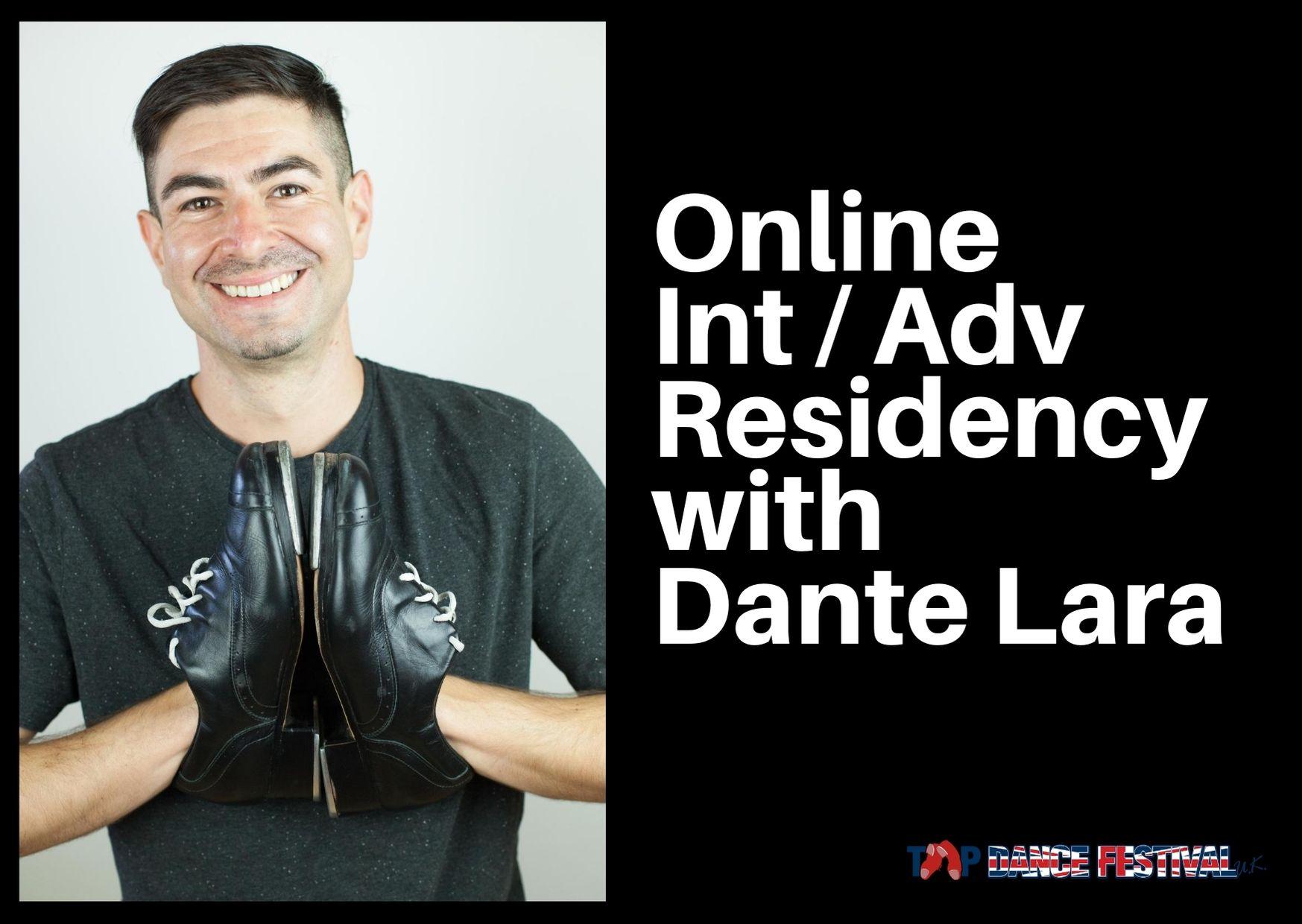 Online Int _ Adv Residency with Dante Lara