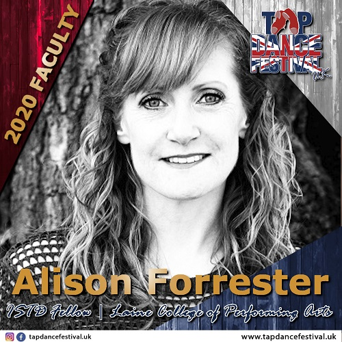 TDFUK2020 Faculty Alison Forrester