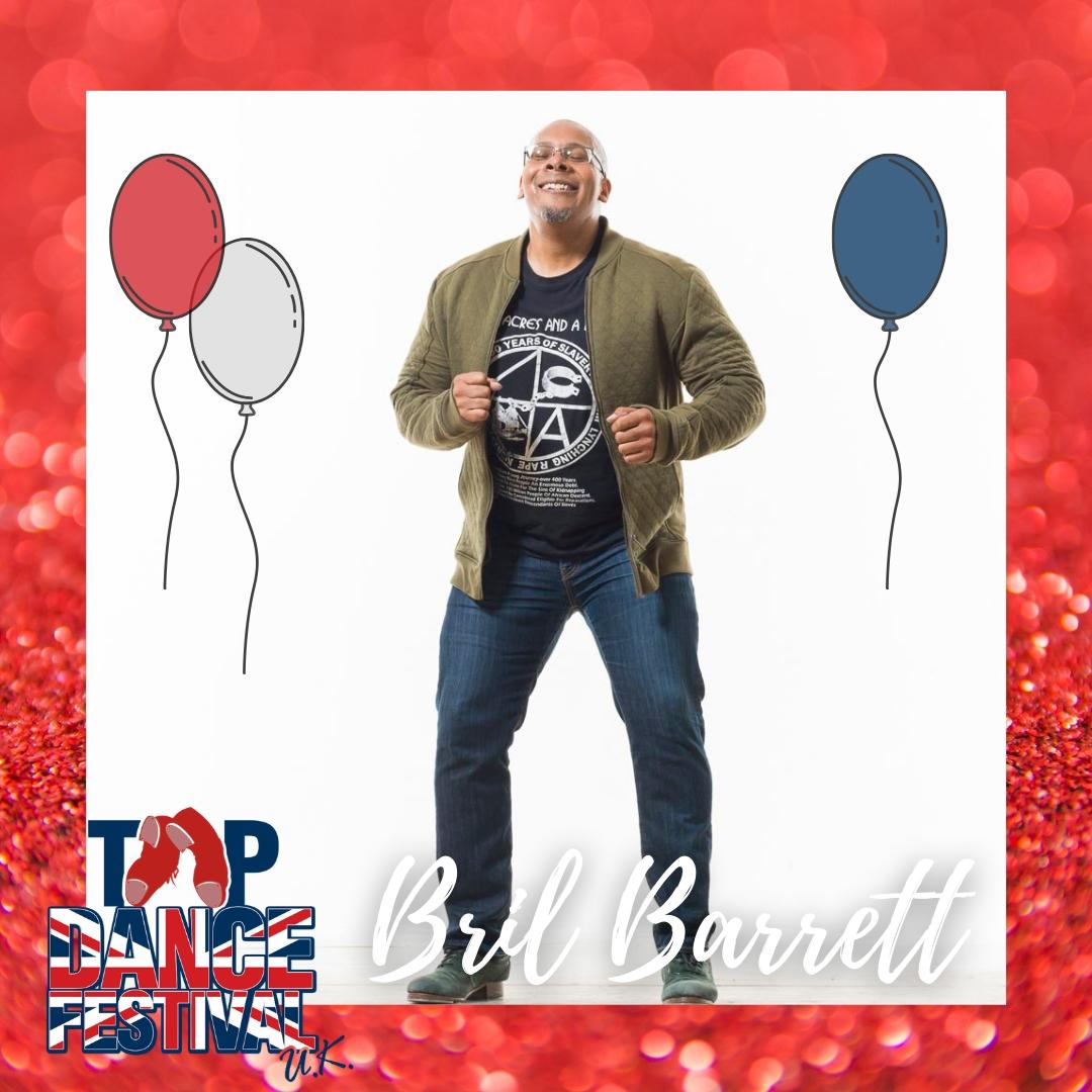 Tap Dance Festival UK 2021 - Faculty - Bril Barrett