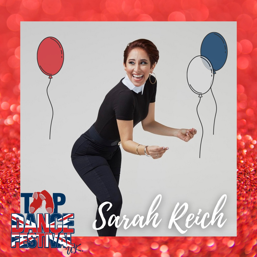 Tap Dance Festival UK 2021 - Faculty - Sarah Reich