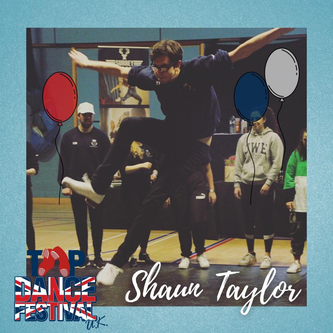 Tap Dance Festival UK 2021 - Faculty - Shaun Taylor