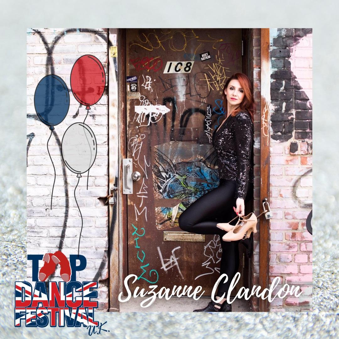 Tap Dance Festival UK 2021 - Faculty - Suzanne Clandon