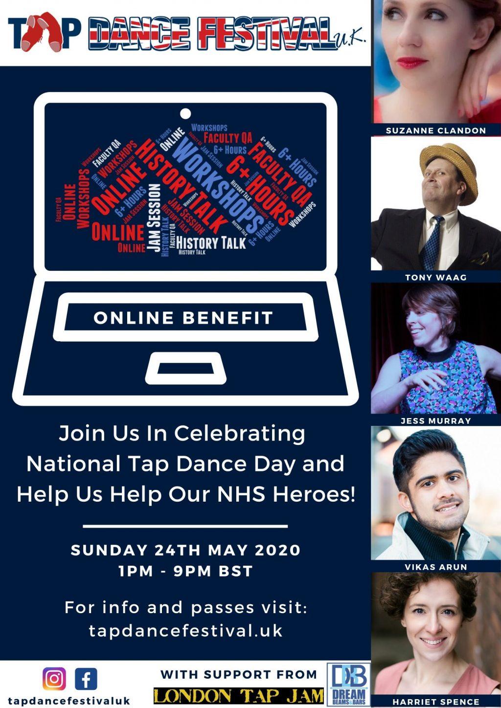 Tap Dance Festival UK Online Benefit