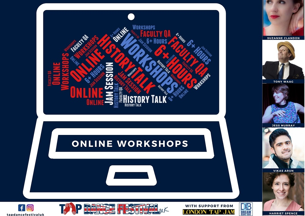 Tap Dance Festival UK Online Workshops