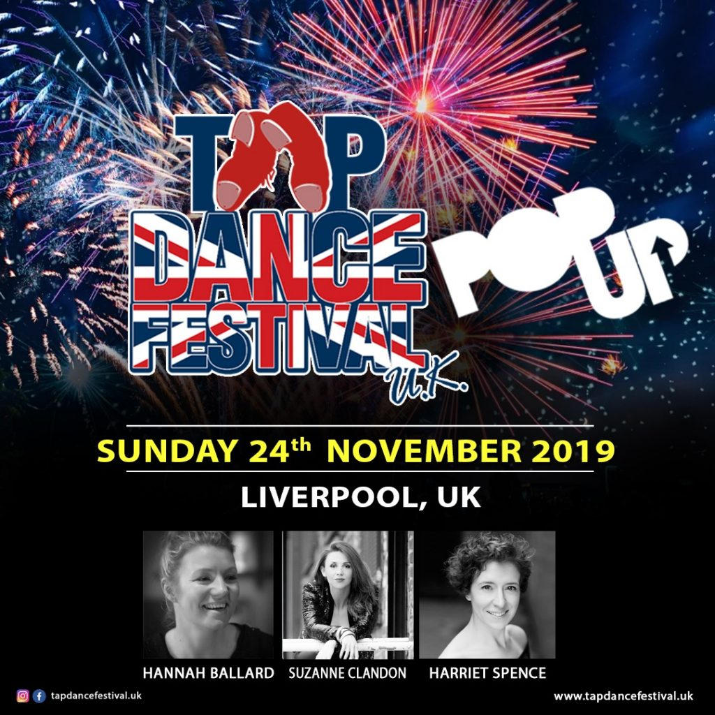 Tap Dance Festival UK Regionals Liverpool November 2019