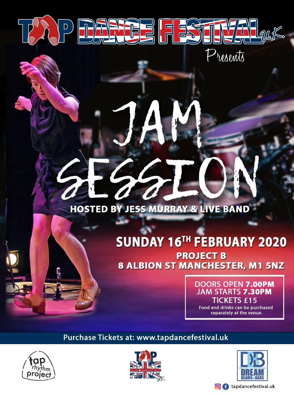 Tap Jam at Tap Dance Festival UK 2020
