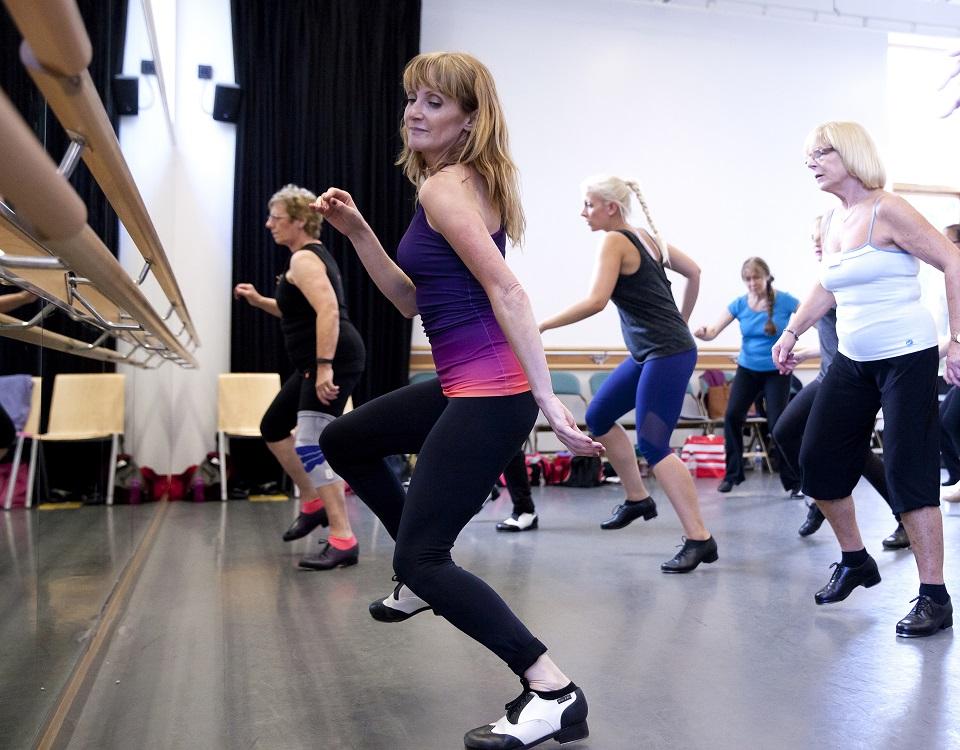 Alison Forrester Faculty at Tap Dance Festival UK 2019