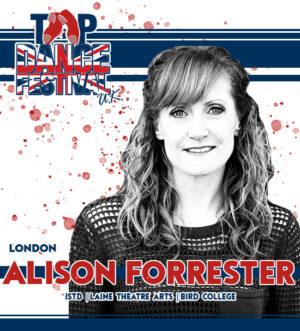 Alison Forrester TDFUK19 Faculty