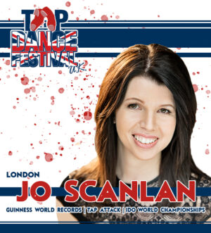 Tap Dance Festival UK Faculty Jo Scanlan