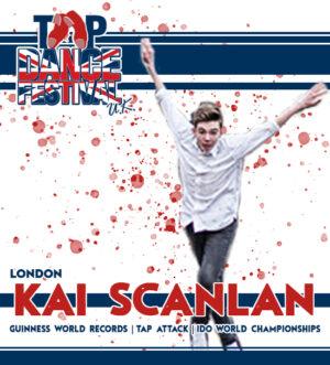 Tap Dance Festival UK Faculty Kai Scanlan