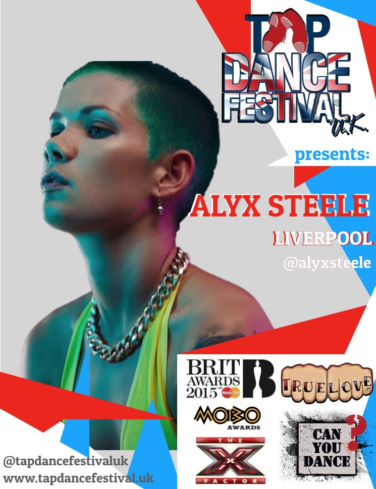 Alyx Steele will be faculty at Tap Dance Festival UK 2018!