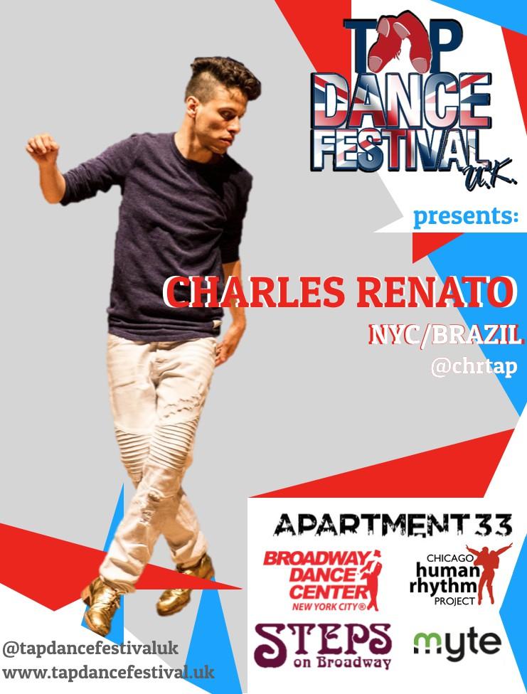 Tap Dance Festival UK 2018 Charles Renato
