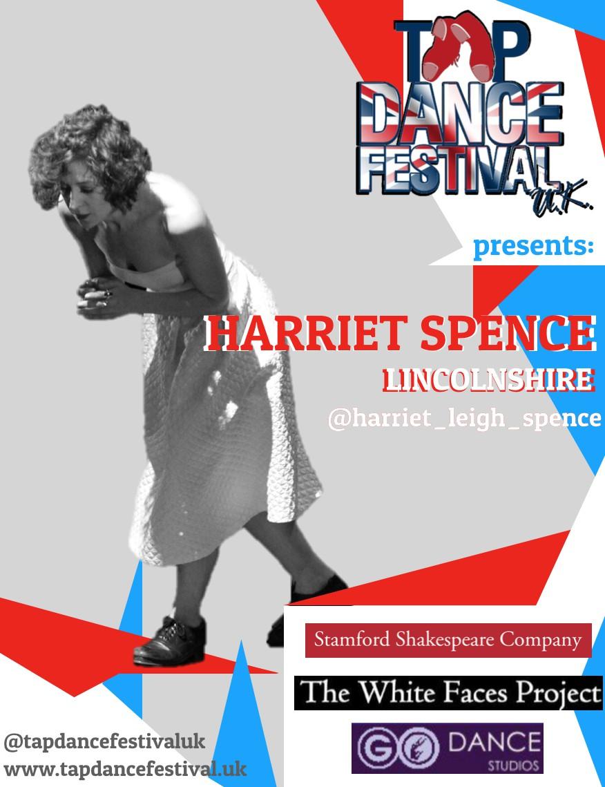 Harriet Spence joins Tap Dance Festival UK 2018 Faculty!