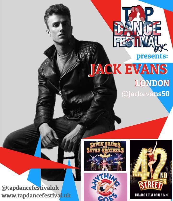 Jack Evans joins Tap Dance Festival UK 2018 Faculty!
