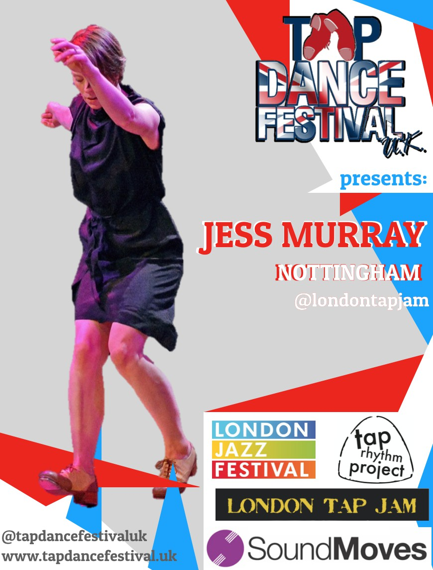 Jess Murray joins Tap Dance Festival 2018 Faculty!