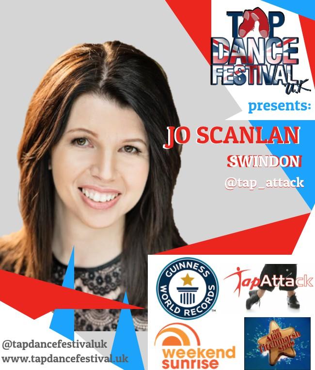 Jo Scanlan joins Tap Dance Festival UK 2018 Faculty!