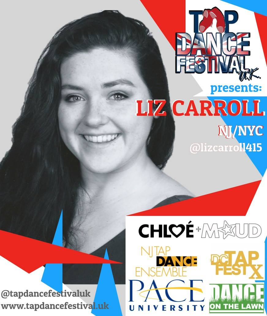 Liz Carroll joins Tap Dance Festival UK 2018 Faculty!