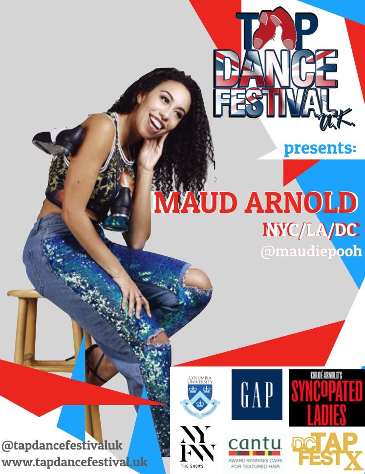 Tap Dance Festival UK 2018 Maud Arnold