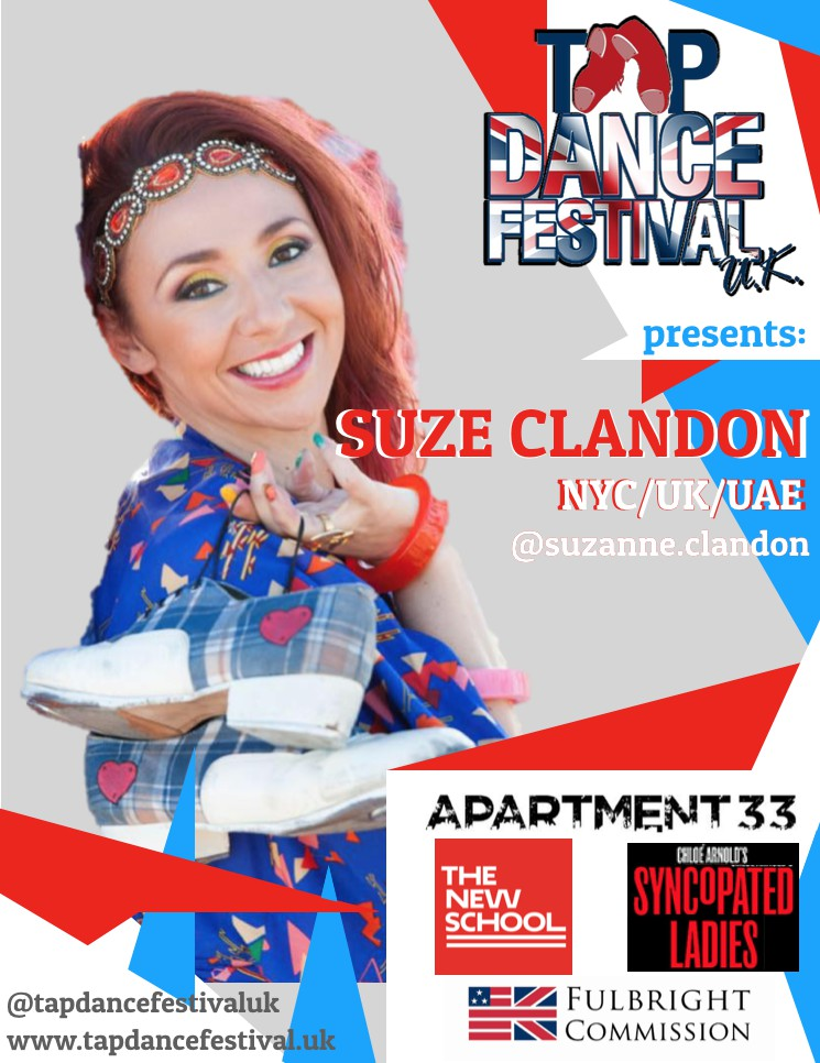 Suzanne Clandon joins faculty for Tap Dance Festival UK 2018!
