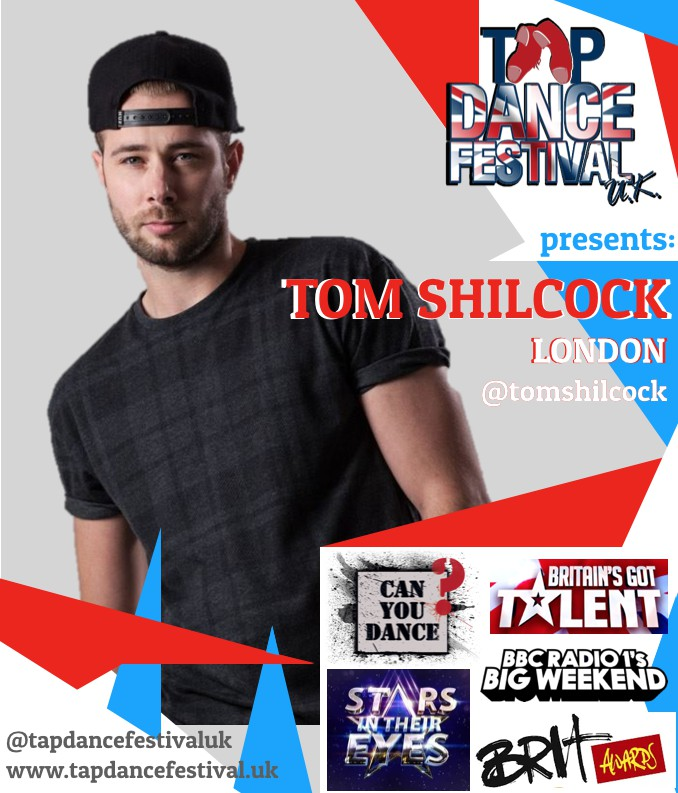 Tom Shilcock joins Tap Dance Festival UK 2018 Faculty!