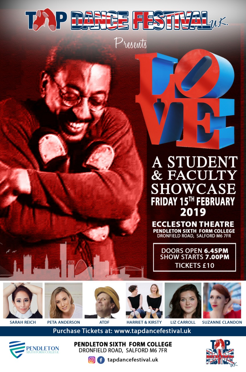 'LOVE' – A showcase of student & faculty talent Flyer