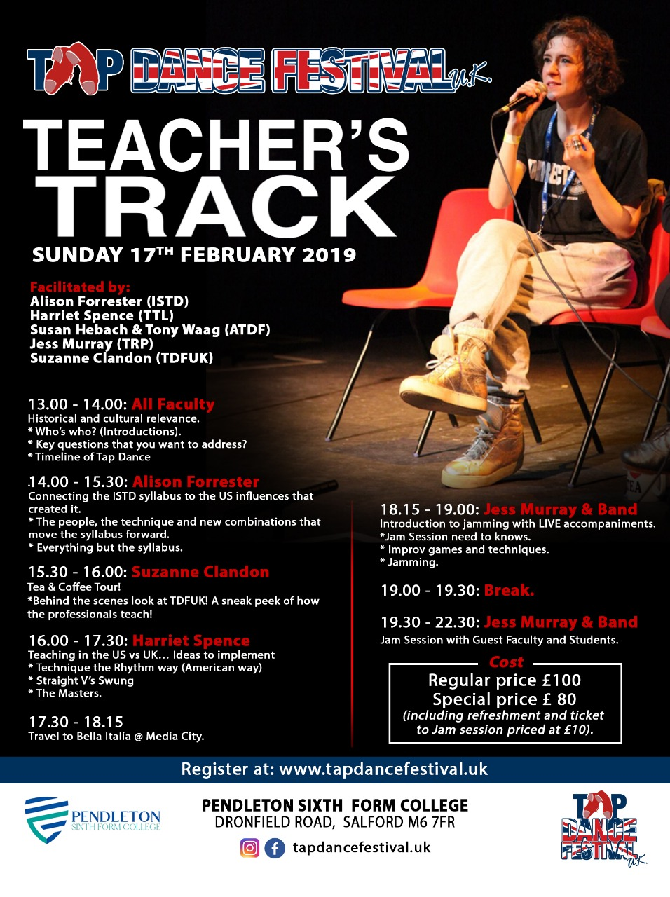 Teachers Track at Tap Dance Festival UK