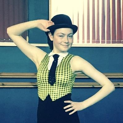 MIME solutions Scholarship Winner Hannah Sharkey at Tap Dance Festival UK