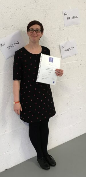 Tap Dance Festival UK MIME Solutions Scholarship Award Winner Lucy White