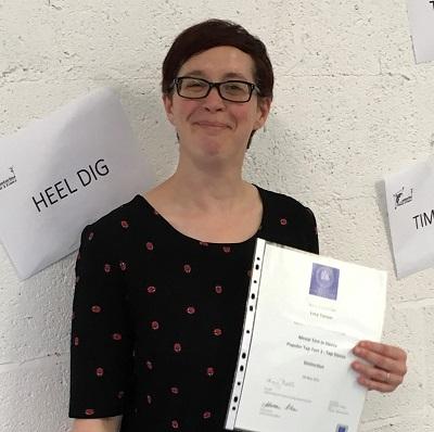 Tap Dance Festival UK MIME Solutions Scholarship Award Winner Lucy White