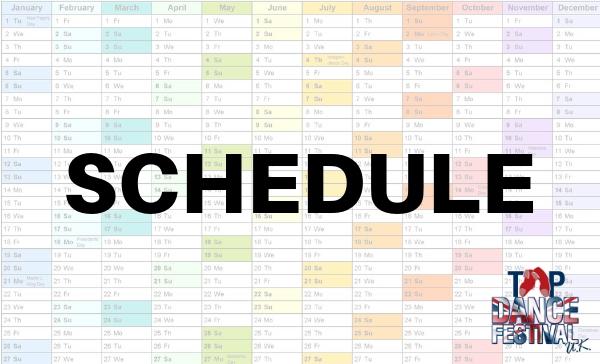 Tap Dance Festival UK 2019 Schedule