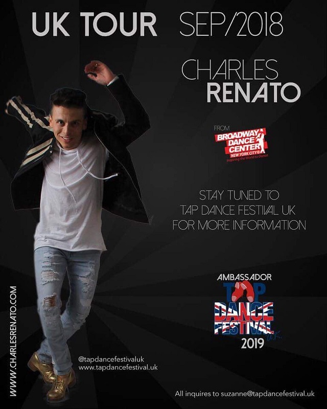 Charles Renato UK Tour September 2018 with TDFUK