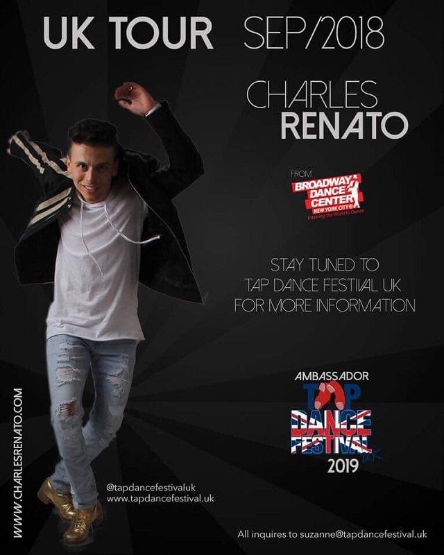 Charles Renato UK Tour September 2018 with TDFUK