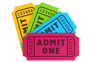 Ticket Collection Procedure for Show Guests